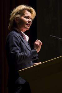 Ursula von der Leyen auf  der aba-Jahrestagung in Berlin, 15. Mai 2013