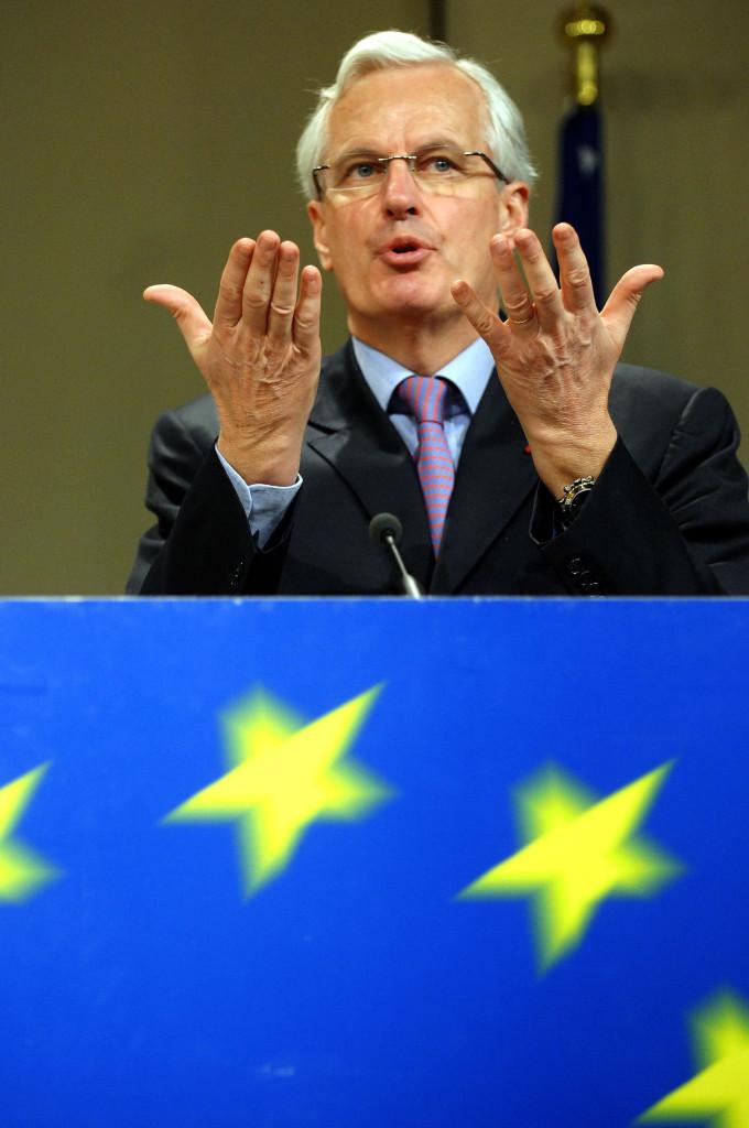 EU-Binnenmarktkommissar Michel Barnier