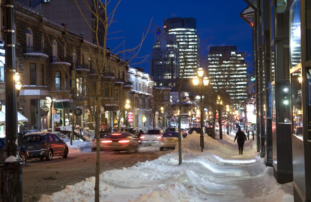 Montreal, Crescent Street