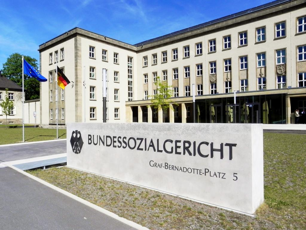 Bundessozialgericht in Kassel. Foto: Dirk Felmeden.