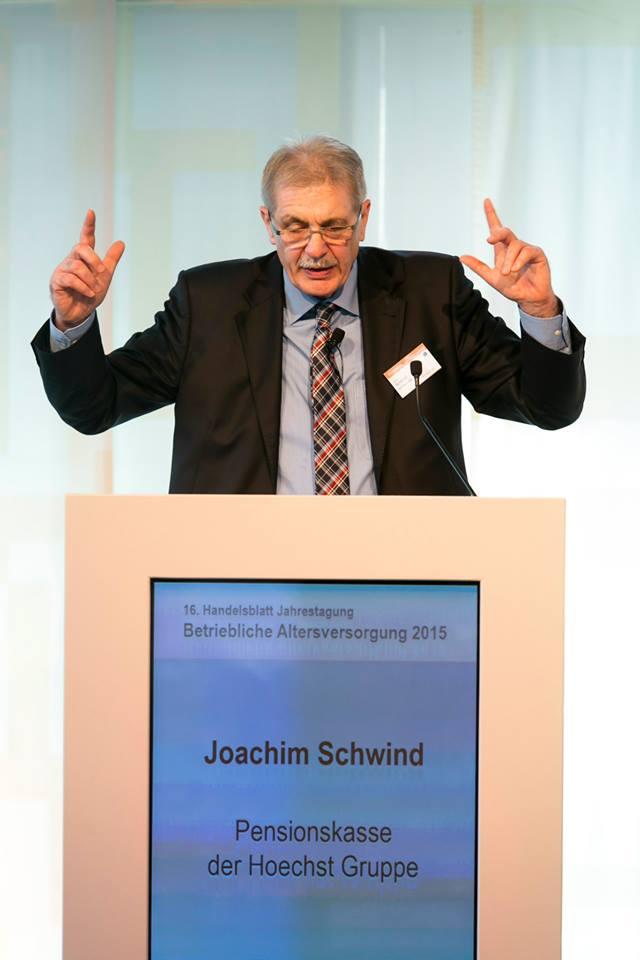Joachim Schwind, Hoechster Penka, auf seinem Vortrag. Foto: EUROFORUM Dietmar Gust.