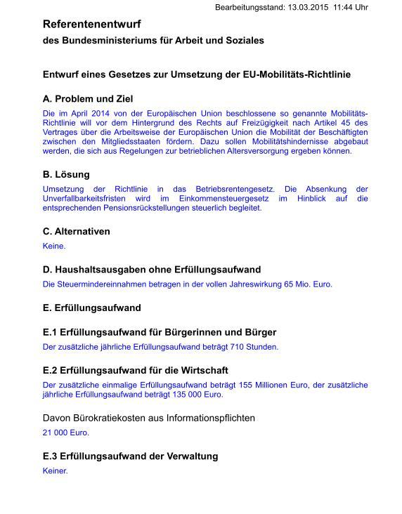 Referentenentwurf BMAS Mob-RL 4-15