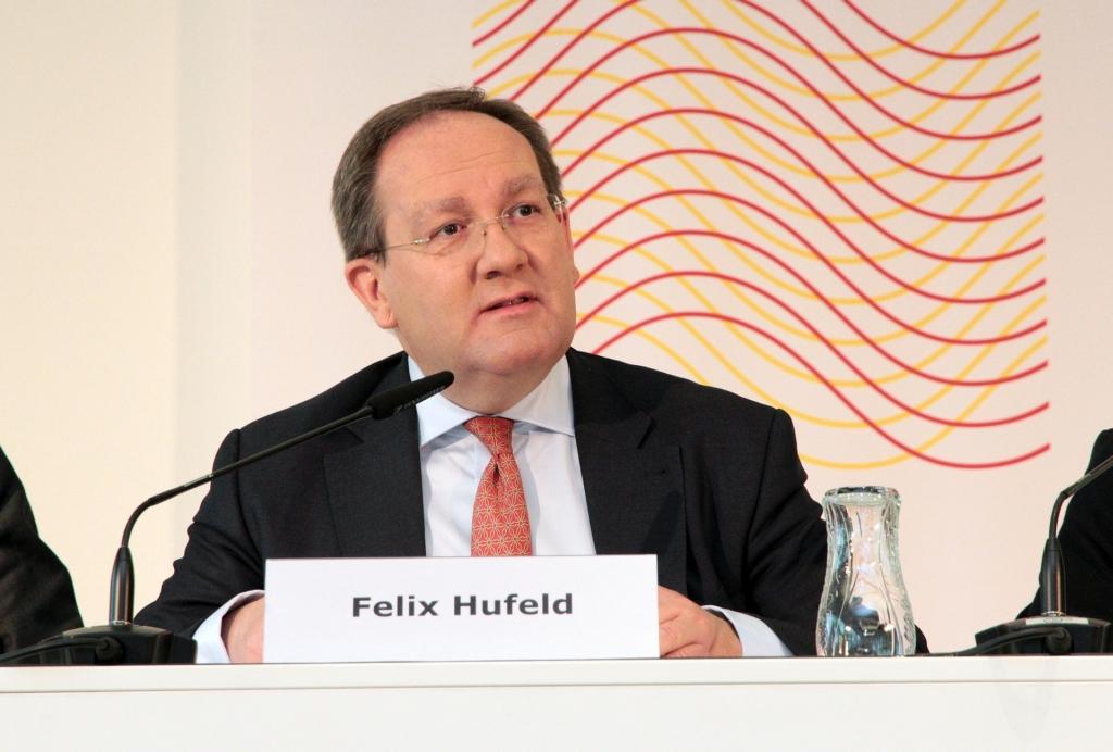 Felix Hufeld auf der BaFin-Pressekonferenz am 12. Mai 2015 in Frankfurt am Main. Foto: Eschweiler / BaFin.