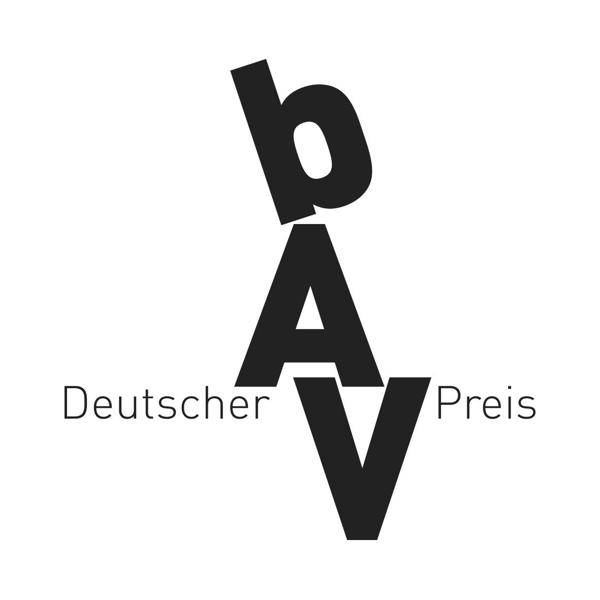 Deutscher bAV-Presi 2015 16 Logo-Dt_bAV_Preis-SW_300DPI