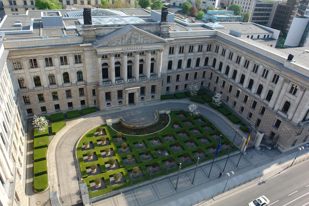 Der Bundesrat in Berlin-Mitte. Foto: Bundesrat.