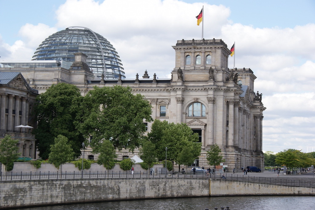 Deutscher Bundestag in Berlin. Foto: Bruess.