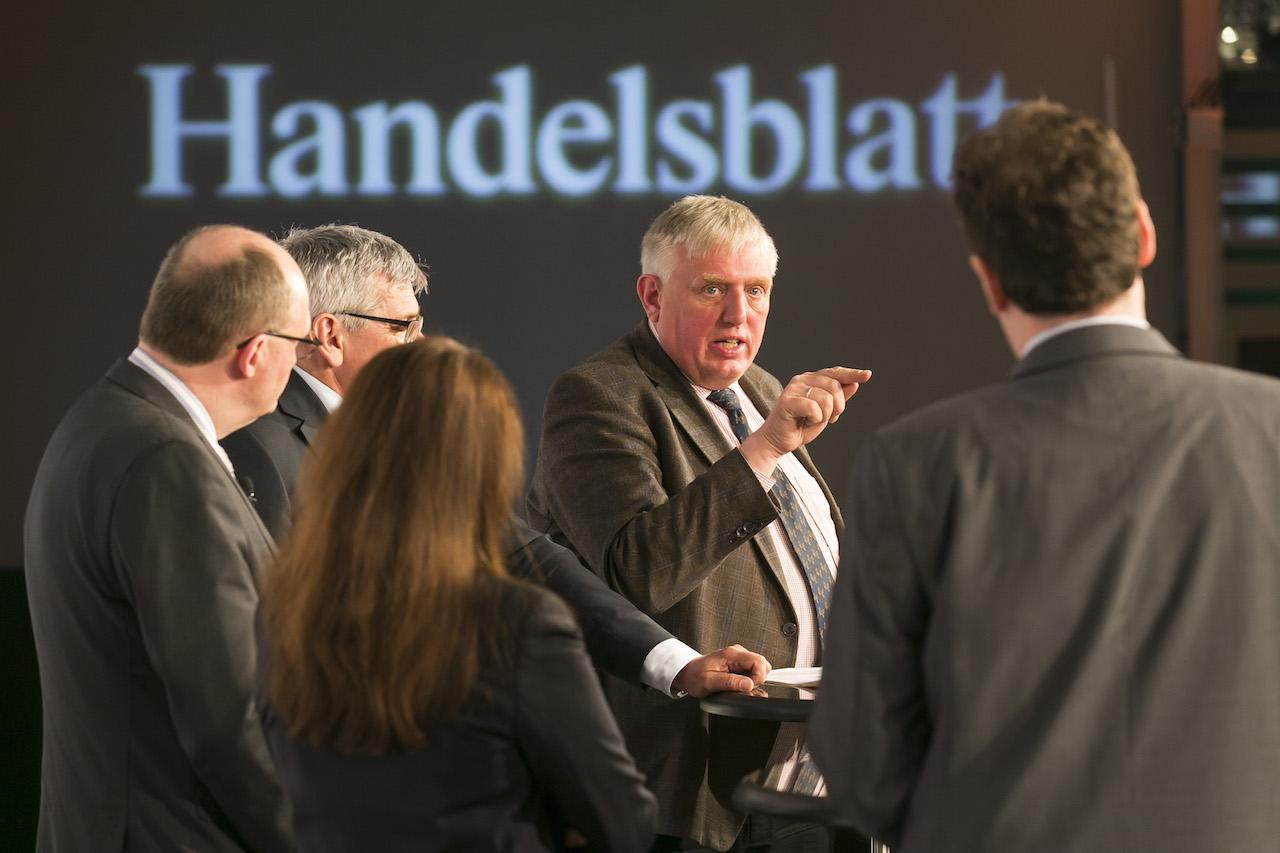 Karl-Josef Laumann auf der 17. Handelsblatt Jahrestagung bAV am 5. April in Berlin. Foto: Dietmar Gust / Euroforum.