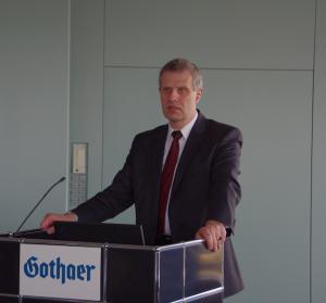 Rolf Moehlenbrock (BMF) auf der Fruehjahrstagung des VVB-Fachkreises bAV am 22. April 2016 in Koeln. Foto: Eberhardt Froitzheim.