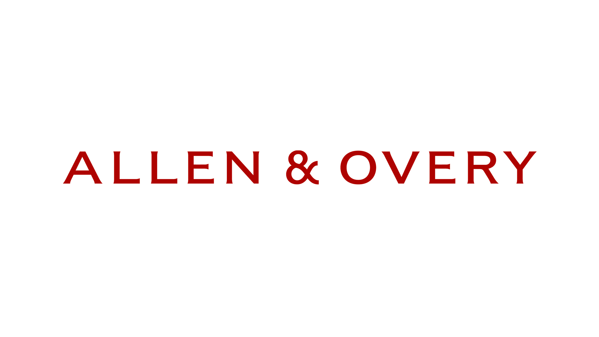 Allen & Overy LLP Legal
