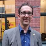 Florian Swyter am Wahlabend...
