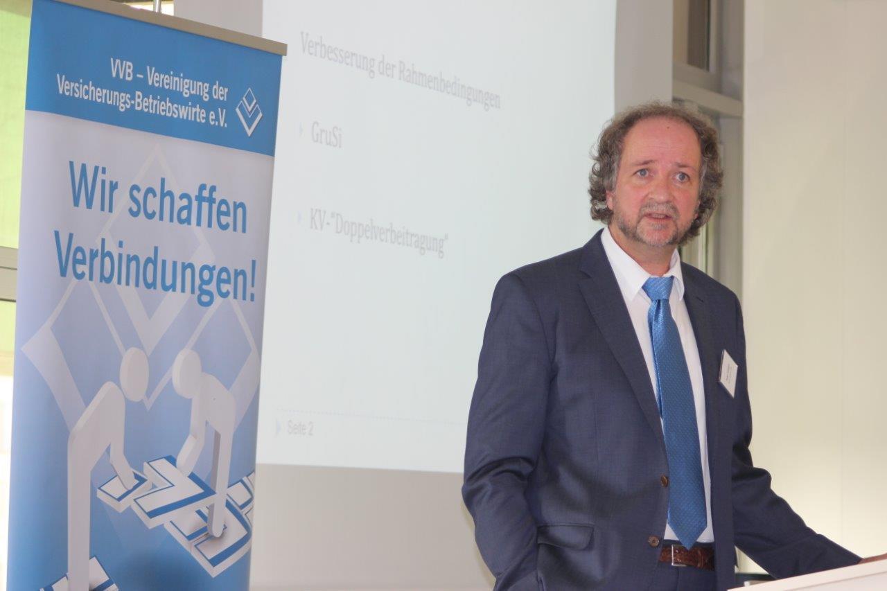 Peter Goergen vom BMAS ...