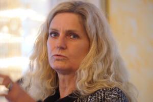 ...und Christine Harder-Buschner vom BMF auf der aba-Mathetagung am 6. Oktober 2016 in Bonn. Fotos: Bruess.