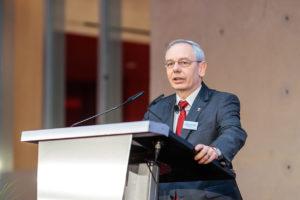 Michael Vassiliadis auf der Sozialpartnertagung der Chemie-Tarifpartner am 1. Februar 2017 in Berlin. Foto: Reinhardt & Sommer.