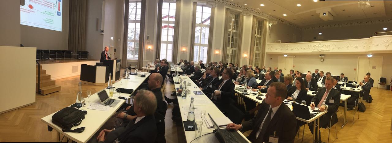 Karsten Tacke waehrend seiner Rede auf dem Berliner-bAV-Auftakt am 25. Januar 2017.