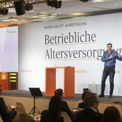 """Stephan-Doell-Deutsche-Pensions-Systems 20. Handelsblatt Jahrestagung """"Betriebliche Altersversorgung 2019"""""""