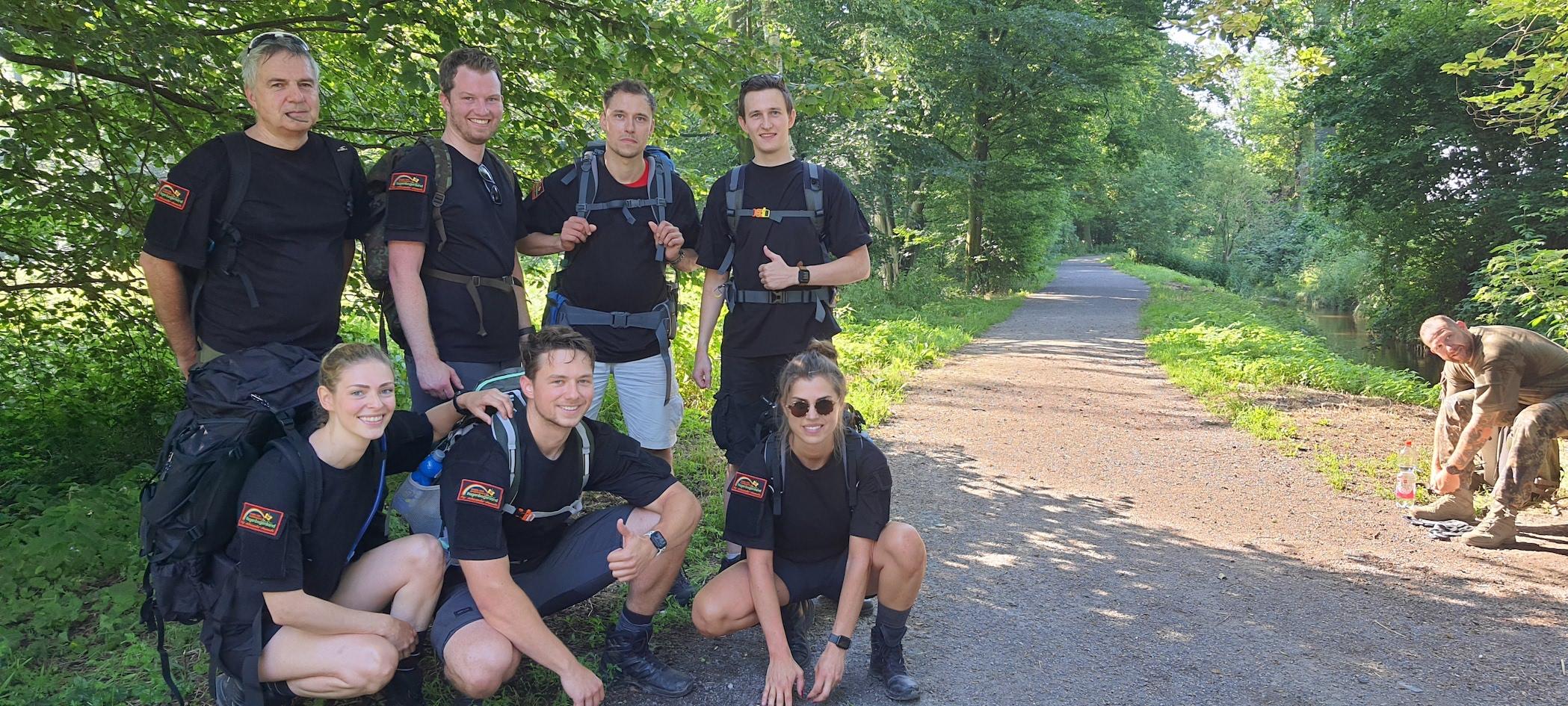 Das Team der Autobahnpolizei Mülheim an der Ruhr.